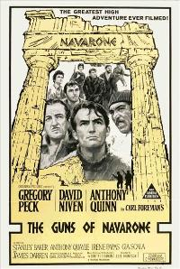 The Guns of Navarone - 11 x 17 Movie Poster - Australian Style A