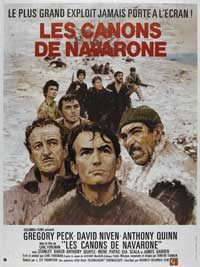 The Guns of Navarone - 27 x 40 Movie Poster - French Style B