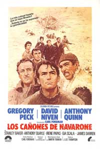 The Guns of Navarone - 27 x 40 Movie Poster - Spanish Style A
