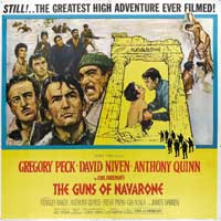 The Guns of Navarone - 30 x 30 Movie Poster - Style A