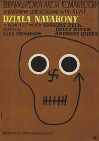 The Guns of Navarone - 11 x 17 Movie Poster - Polish Style A