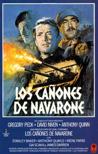 The Guns of Navarone - 11 x 17 Movie Poster - Spanish Style C