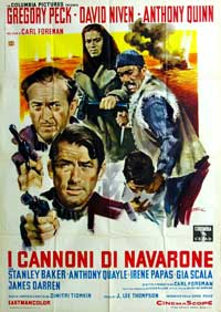 The Guns of Navarone - 11 x 17 Movie Poster - Italian Style A