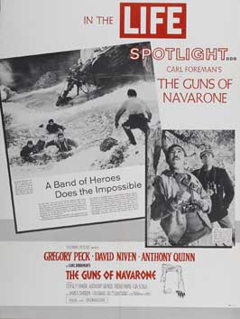 The Guns of Navarone - 11 x 17 Movie Poster - Style F