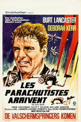 The Gypsy Moths - 11 x 17 Movie Poster - Belgian Style A