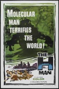The H-Man - 27 x 40 Movie Poster - Style B