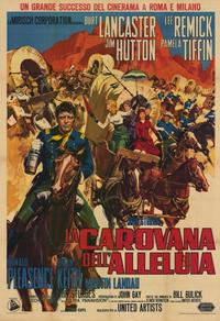 The Hallelujah Trail - 11 x 17 Movie Poster - Italian Style A