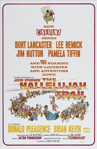 The Hallelujah Trail - 27 x 40 Movie Poster - Style B