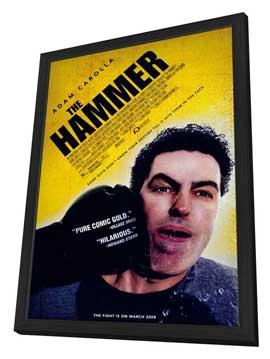 The Hammer - 27 x 40 Movie Poster - Style A - in Deluxe Wood Frame