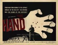 The Hand - 22 x 28 Movie Poster - Half Sheet Style A