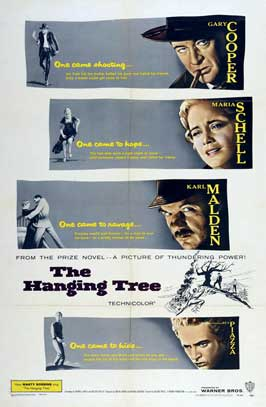 The Hanging Tree - 27 x 40 Movie Poster - Style A