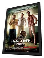 The Hangover 2 - 27 x 40 Movie Poster - Style B - in Deluxe Wood Frame