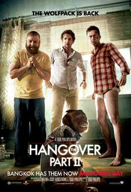 The Hangover 2 - 43 x 62 Movie Poster - Bus Shelter Style A