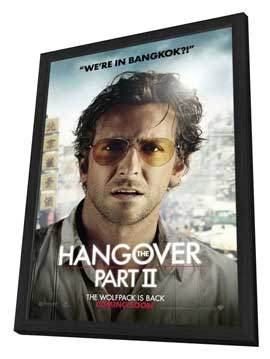 The Hangover 2 - 11 x 17 Movie Poster - Style E - in Deluxe Wood Frame