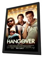 The Hangover - 11 x 17 Movie Poster - Style A - in Deluxe Wood Frame
