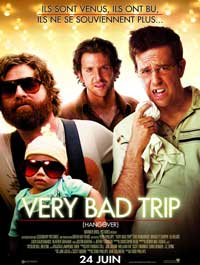 The Hangover - 11 x 17 Movie Poster - French Style A