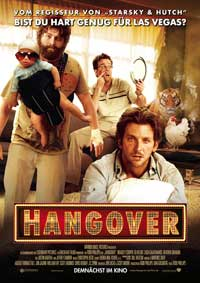 The Hangover - 11 x 17 Movie Poster - German Style I