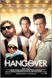 The Hangover - 11 x 17 Movie Poster - Swiss Style A