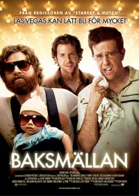 The Hangover - 27 x 40 Movie Poster - Swedish Style A