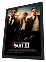 The Hangover Part III - 11 x 17 Movie Poster - Style A - in Deluxe Wood Frame