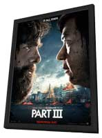 The Hangover Part III - 27 x 40 Movie Poster - Style B - in Deluxe Wood Frame
