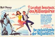The Happiest Millionaire - 11 x 17 Movie Poster - Belgian Style A