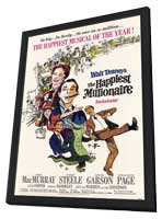The Happiest Millionaire - 11 x 17 Movie Poster - Style A - in Deluxe Wood Frame