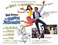 The Happiest Millionaire - 11 x 14 Movie Poster - Style B