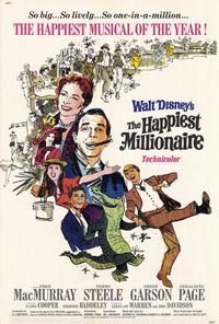 The Happiest Millionaire - 27 x 40 Movie Poster - Style A
