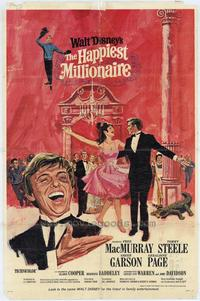 The Happiest Millionaire - 11 x 17 Movie Poster - Style B