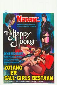 The Happy Hooker - 11 x 17 Movie Poster - Belgian Style A