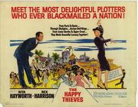 The Happy Thieves - 22 x 28 Movie Poster - Half Sheet Style A