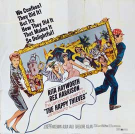 The Happy Thieves - 30 x 30 Movie Poster - Style A