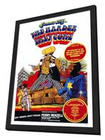The Harder They Come - 27 x 40 Movie Poster - Style A - in Deluxe Wood Frame
