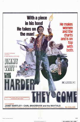 The Harder They Come - 11 x 17 Movie Poster - Style B