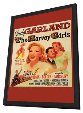The Harvey Girls - 11 x 17 Movie Poster - Style A - in Deluxe Wood Frame