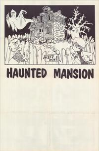The Haunted Mansion - 27 x 40 Movie Poster - Style A