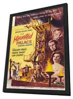 The Haunted Palace - 11 x 17 Movie Poster - Style A - in Deluxe Wood Frame