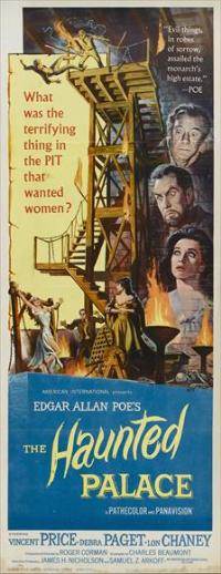 The Haunted Palace - 14 x 36 Movie Poster - Insert Style A