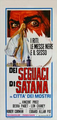 The Haunted Palace - 13 x 28 Movie Poster - Italian Style A