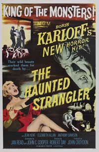 The Haunted Strangler - 11 x 17 Movie Poster - Style A