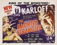 The Haunted Strangler - 11 x 14 Movie Poster - Style I