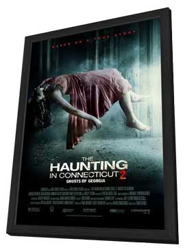 The Haunting in Connecticut 2: Ghosts of Georgia - 27 x 40 Movie Poster - Style A - in Deluxe Wood Frame