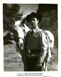 The Hawk of Powder River - 8 x 10 B&W Photo #1