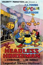 The Headless Horseman - 11 x 17 Movie Poster - Style A