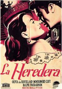 The Heiress - 11 x 17 Movie Poster - Spanish Style A