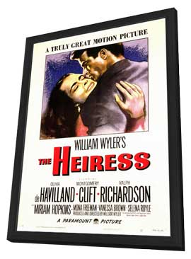 The Heiress - 11 x 17 Movie Poster - Style A - in Deluxe Wood Frame