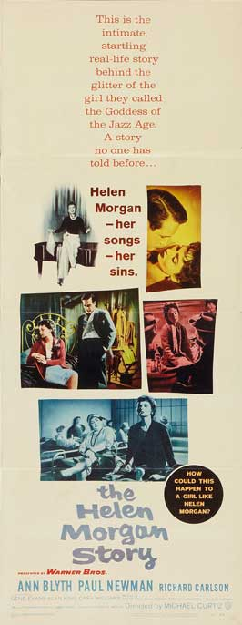 The Helen Morgan Story - 14 x 36 Movie Poster - Insert Style A
