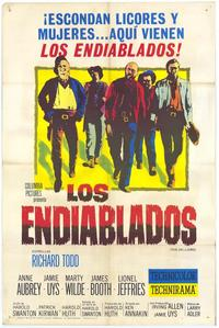 The Hellions - 11 x 17 Movie Poster - Spanish Style A