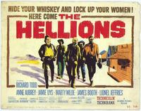 The Hellions - 22 x 28 Movie Poster - Half Sheet Style A